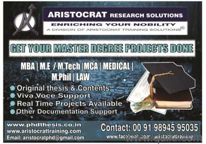Master thesis development management