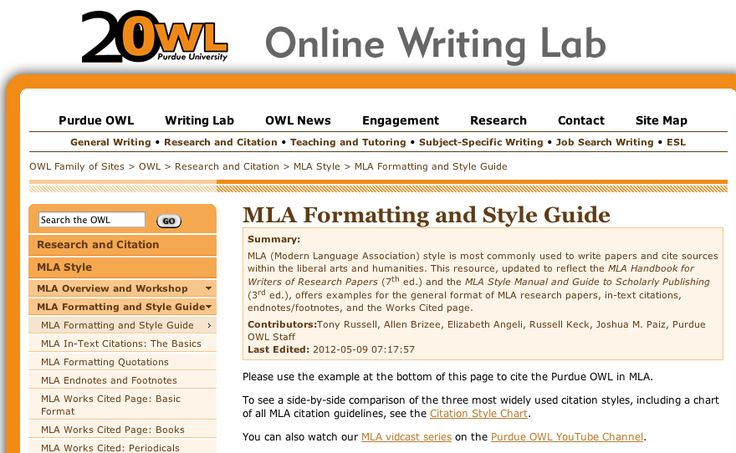 purdue online writing Online writing lab the mission of the english department and the tiger writing lab is to provide writing assistance.